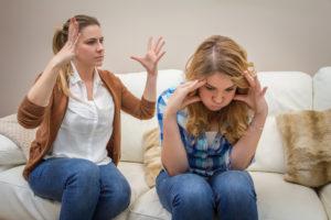 Как не ругаться с мамой