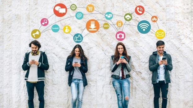 Дружба в социальных сетях