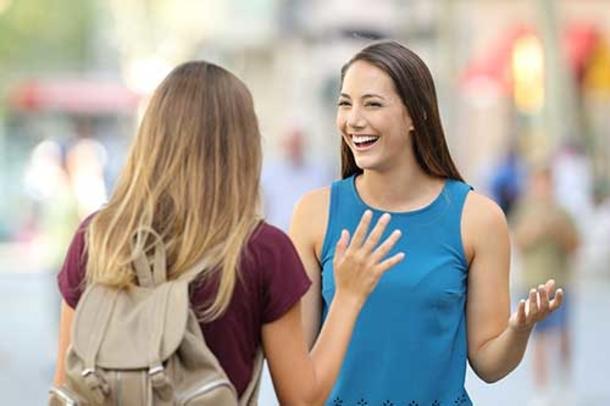 Разговор на улице