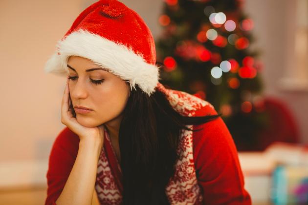 Одиноко в новогодние праздники