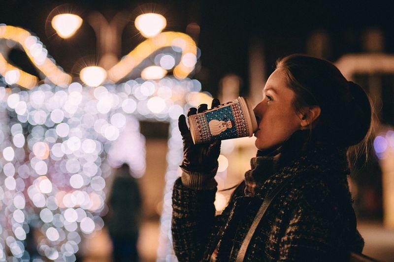 Новый год на улице в одиночестве