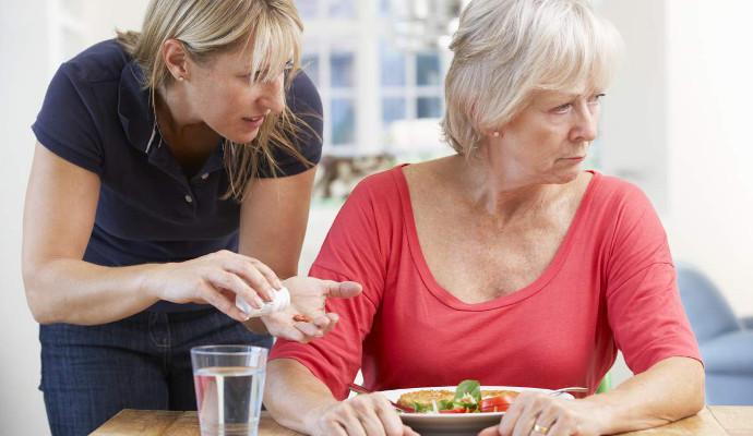 Общение с пожилой мамой