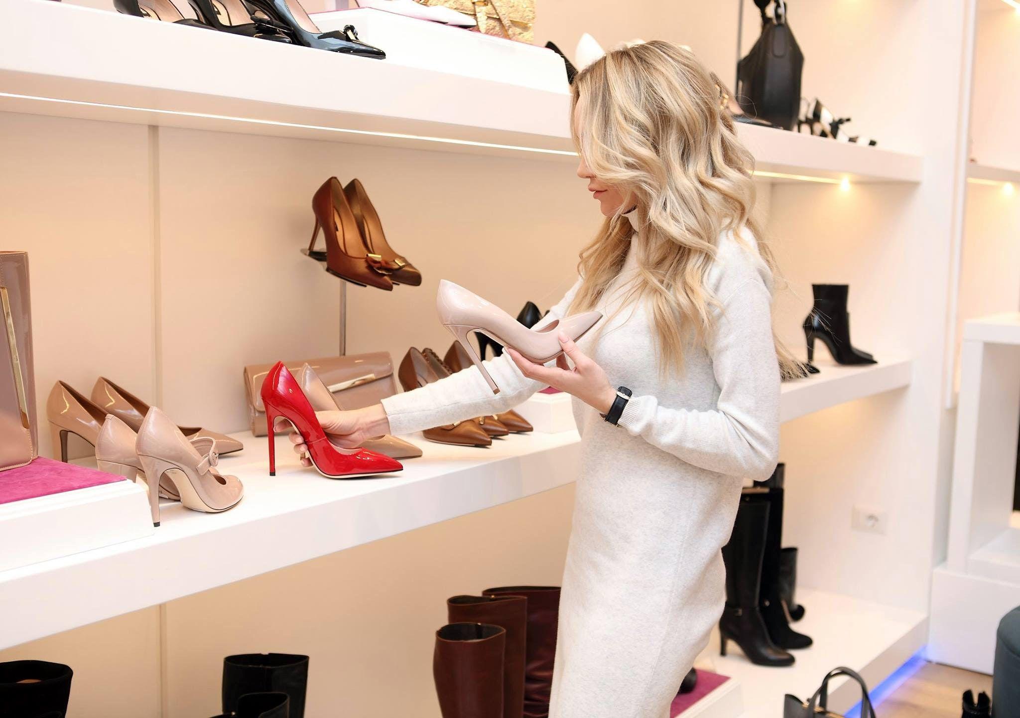 Выбор обуви в Америке