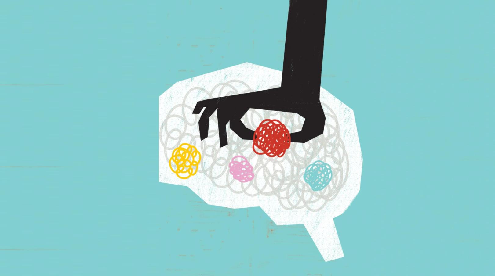 Перестроение нейронных связей для успокоения